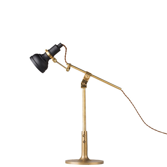 Black Vintage Table Lamp