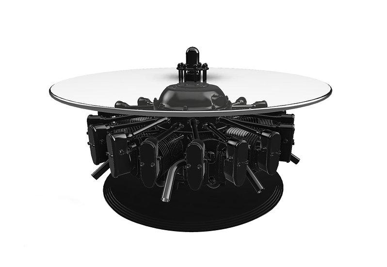 Jacobs Engine Table - Black