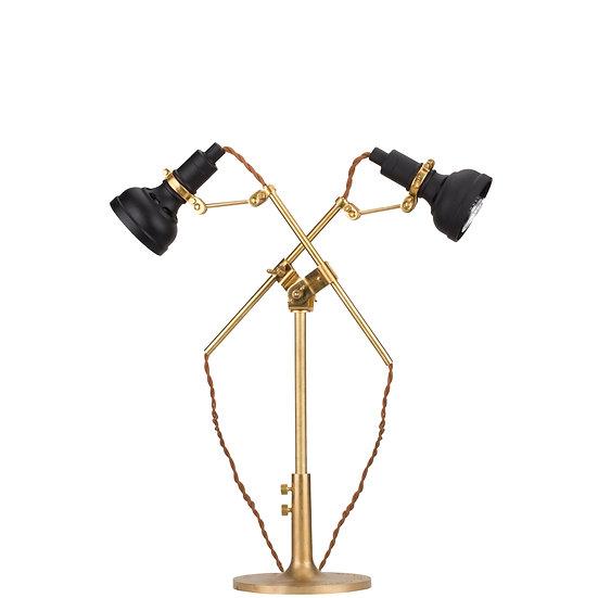 Double Head Vintage Table Lamp