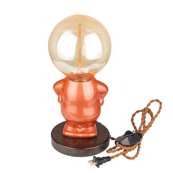 Mario Lamp (glossy orange)