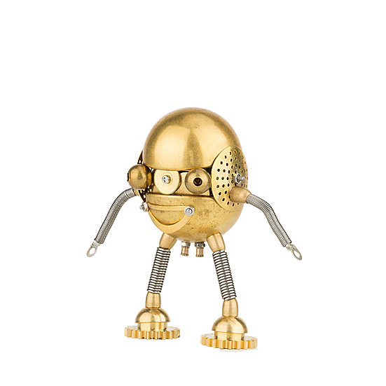 Metal Egg Person