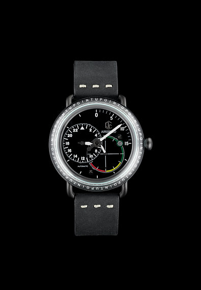 Upoint Watch Black