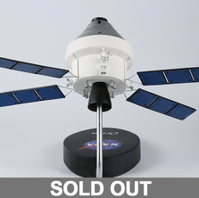 NASA satellite scale model