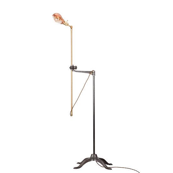 Brass Vintage Floor Lamp