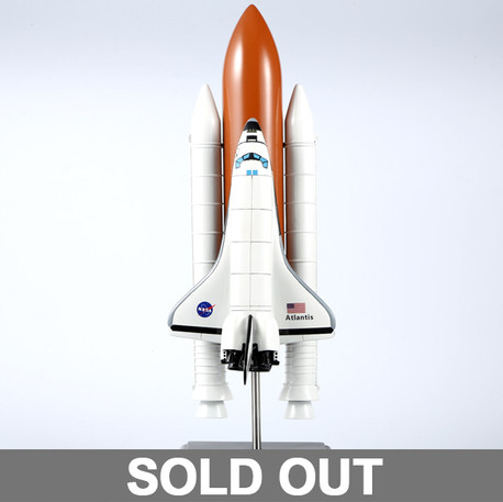 NASA Space shuttle scale model
