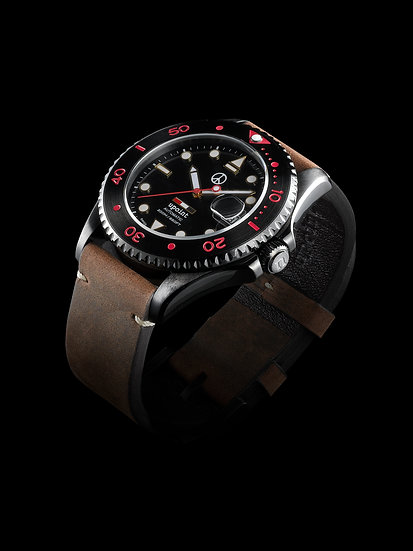 Upoint Automatic Watch Brown