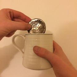 RICH TEA BROOCH