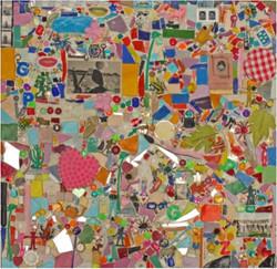 Mosaique bisou bisou, 2014