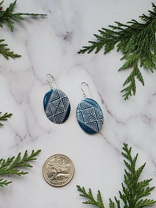 Goose Eggshell Earrings