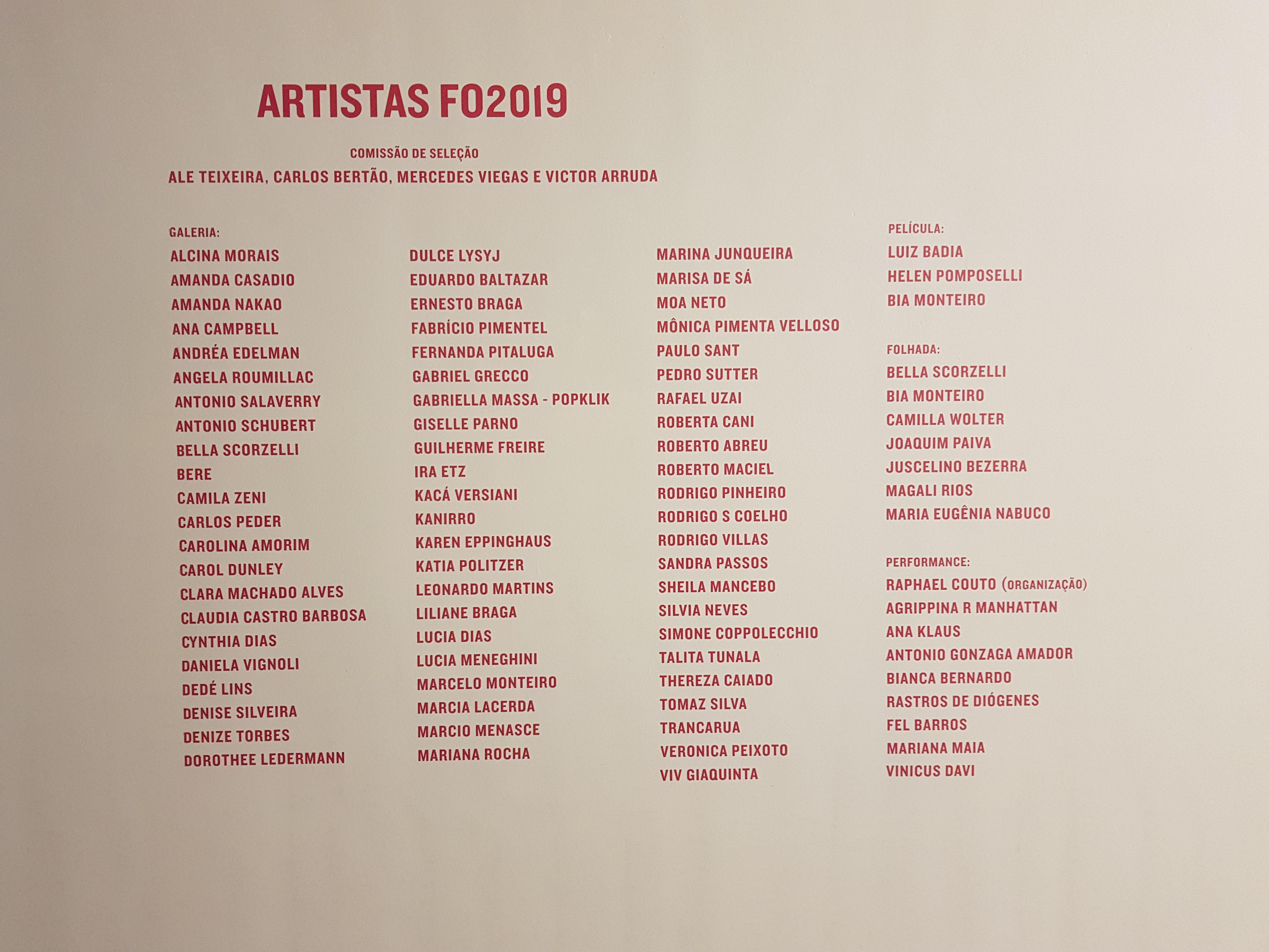 3a Feria Oriente de Artes Visuais