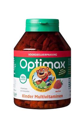 Optimax Kinder Multivitamine Kauwtabletten