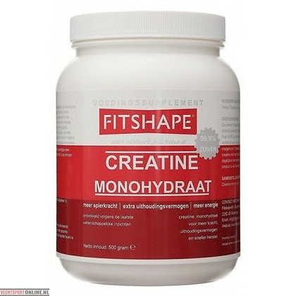 Fitshape Creatine Monohydraat 500gr