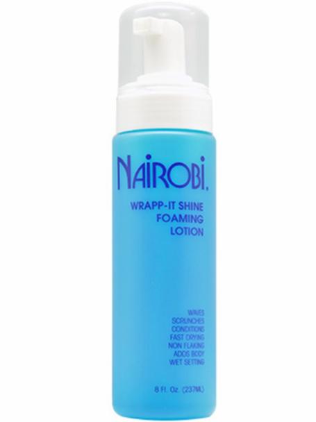 Nairobi Wrapp-It Shine Foaming Lotion 8 oz