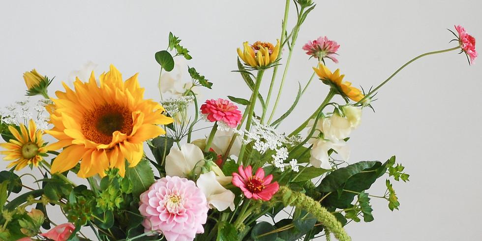 Whimsical Flower Arrangement Workshop
