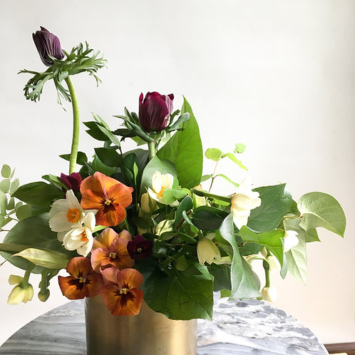 Artsy Vase Arrangement Subscription (only available to the downtown core)