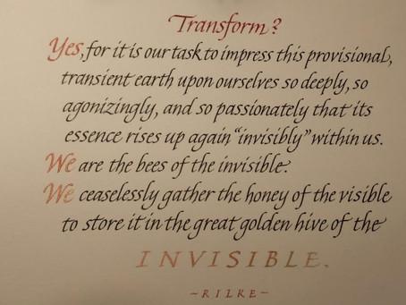 Rilke on sadness
