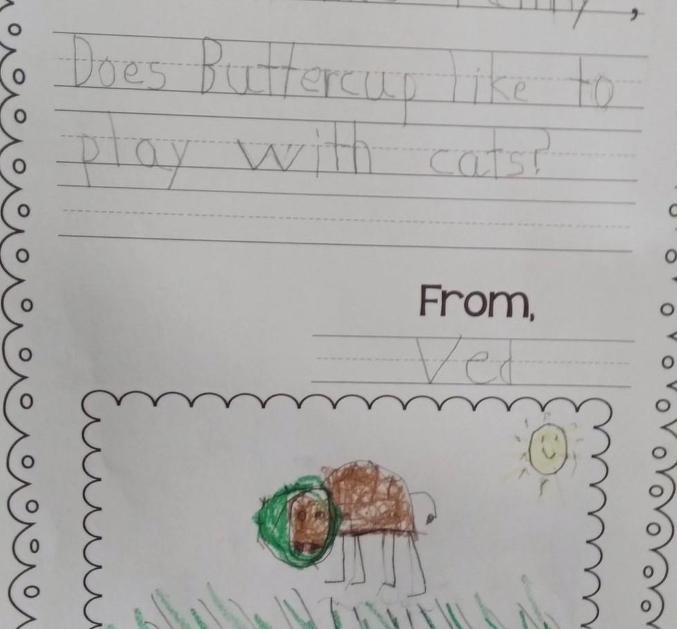 Ved's Letter