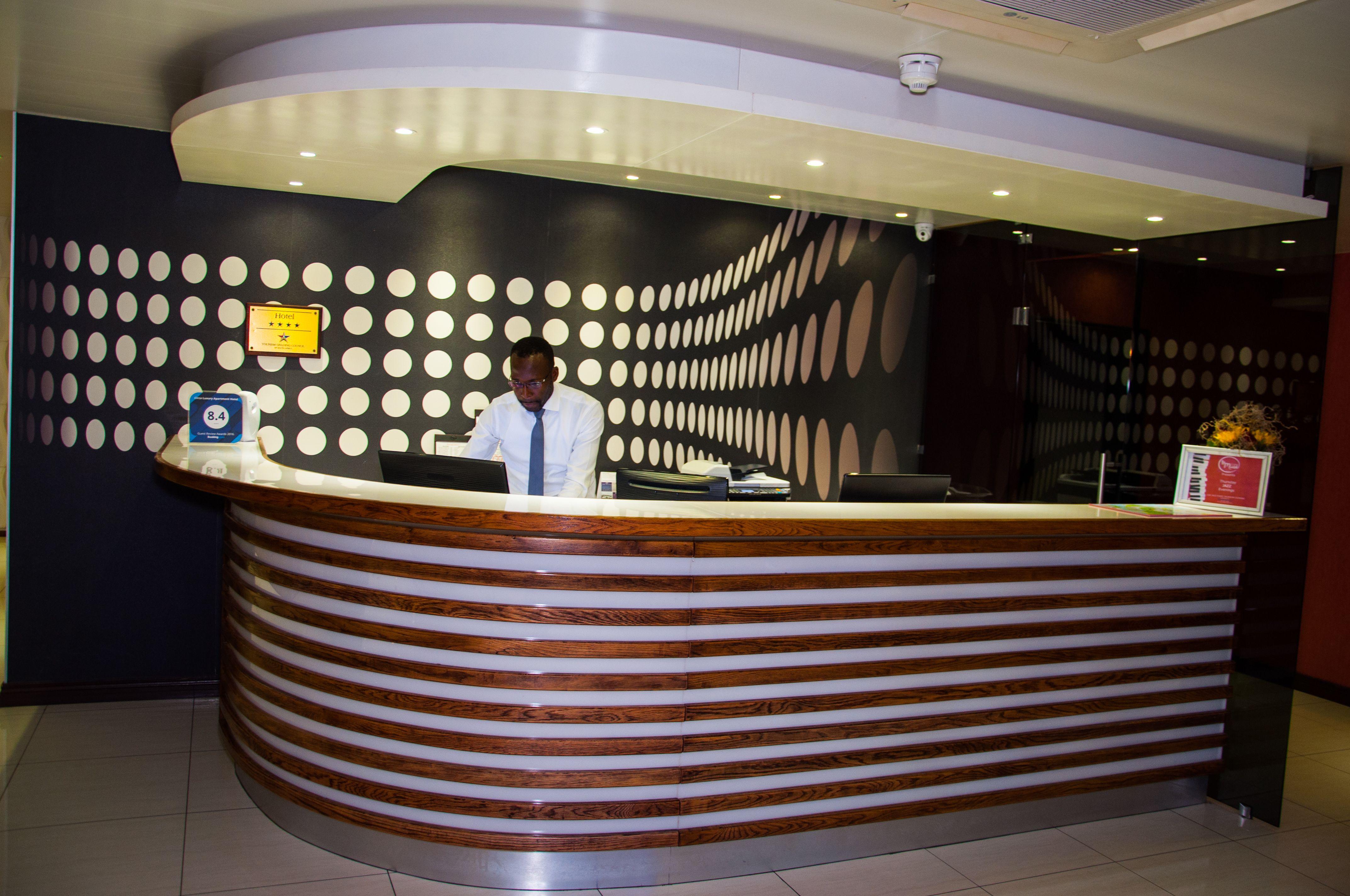Circa Hotel Reception