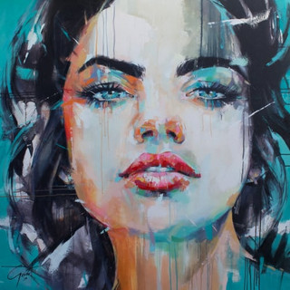 Blue Eyed Girl.jpg Sold