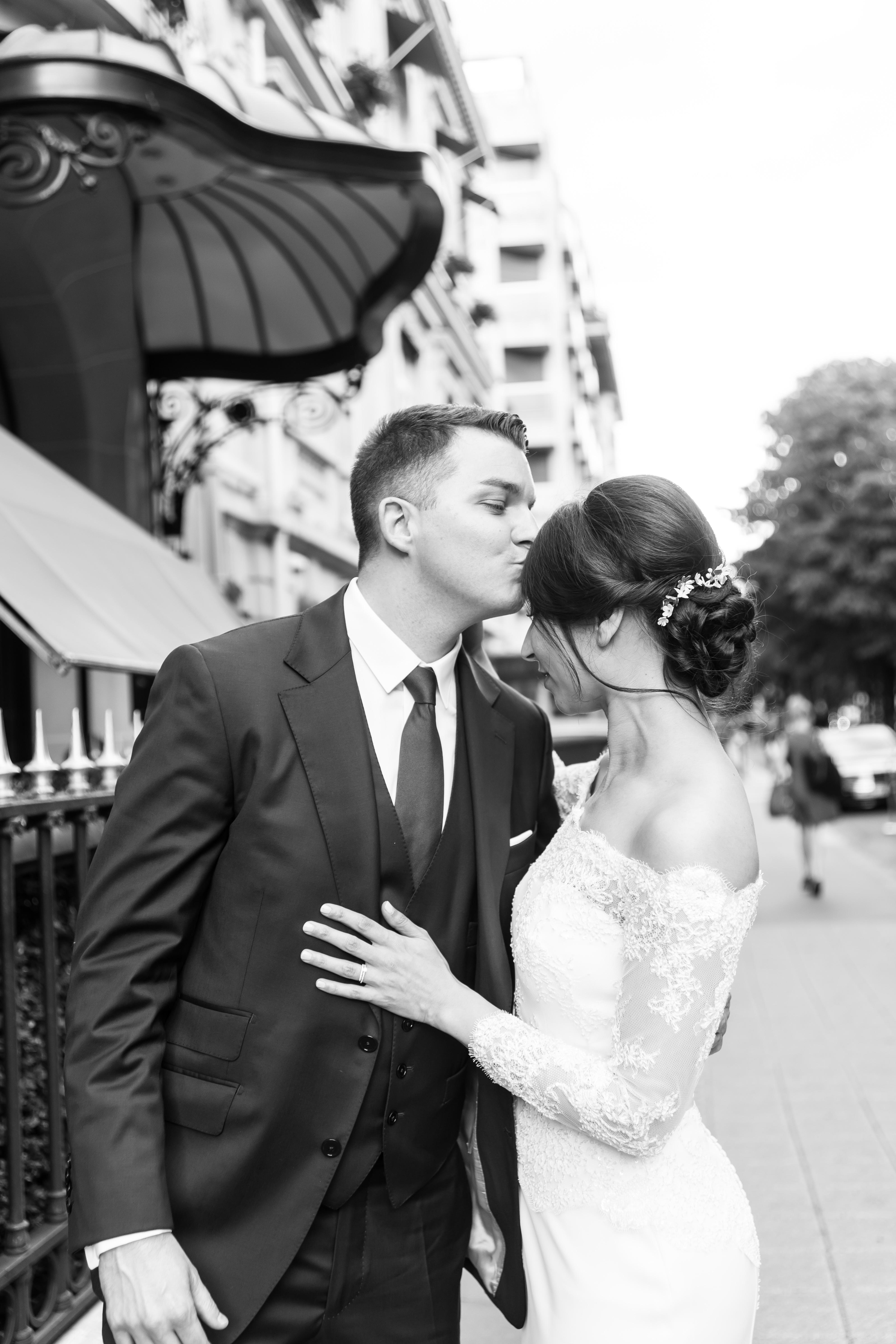 anna rouch mariage plaza athénée