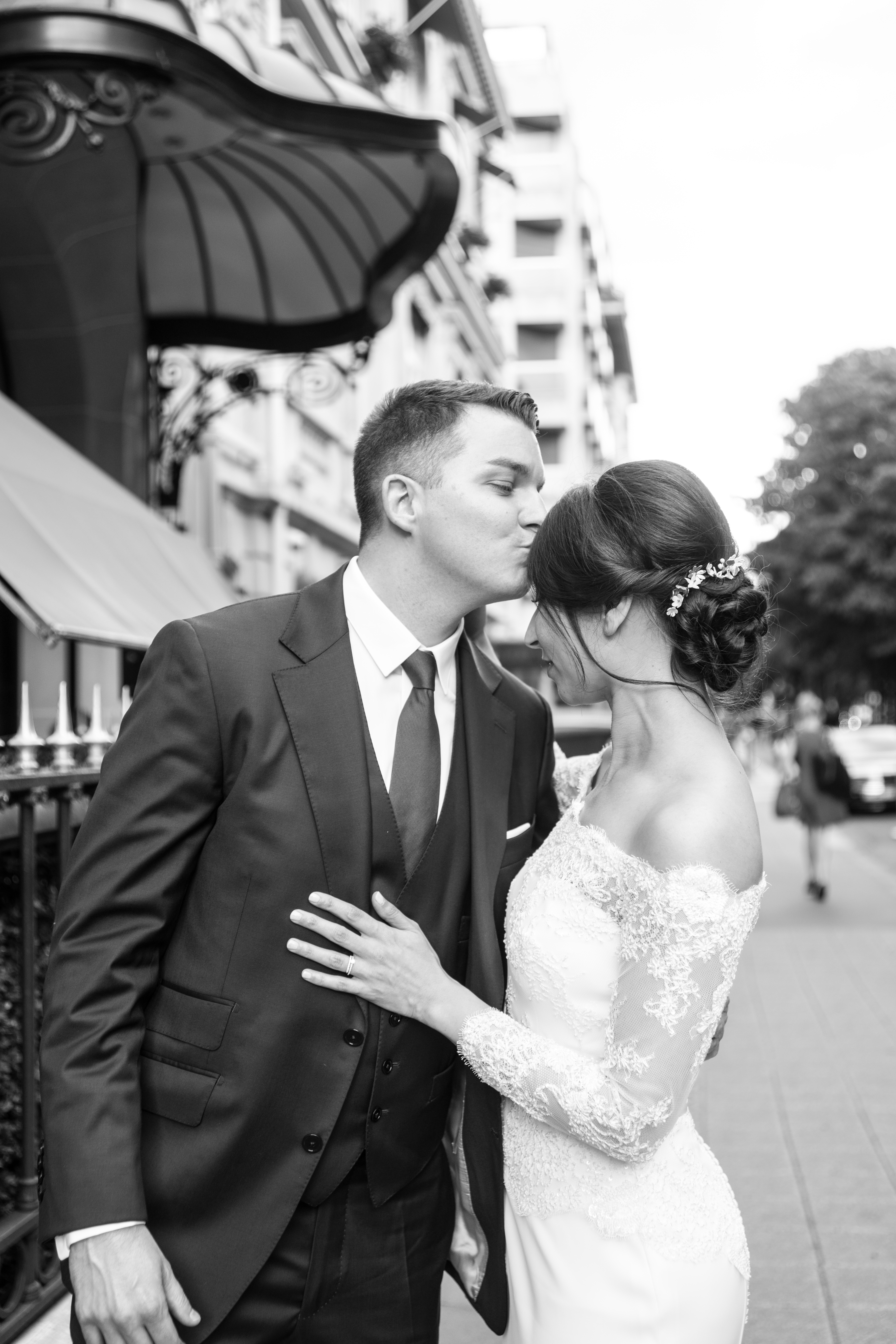 anna rouch plaza athénée mariage