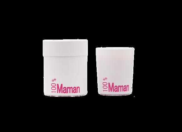 Bougie parfumée - 100% Maman
