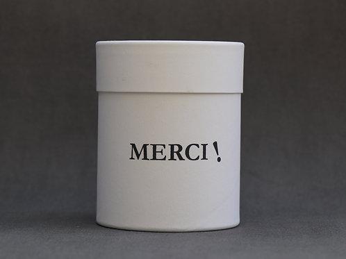 Bougie personnalisée parfumée  Thé vert