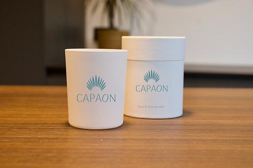 Bougie Capaon - Muscs & Fleur de coton