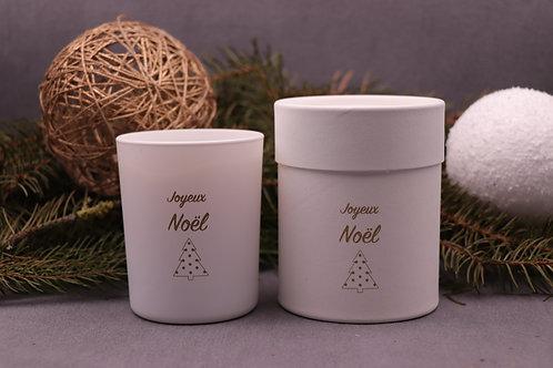 Joyeux Noël ! Bougie parfumée roi des forêts