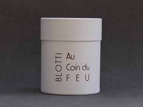 Bougie personnalisée parfumée Feu de Bois