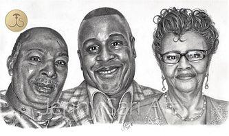 Graphite, Family portrait