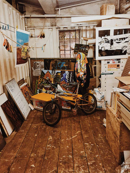 THE ARTISTS SHACK