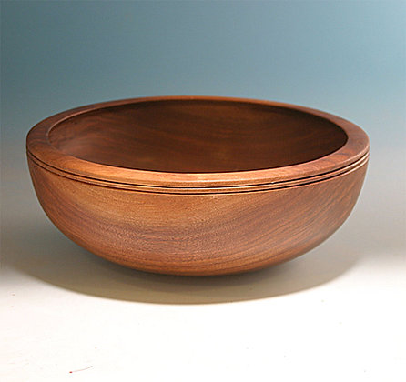 Large Walnut Bowl  Item 493