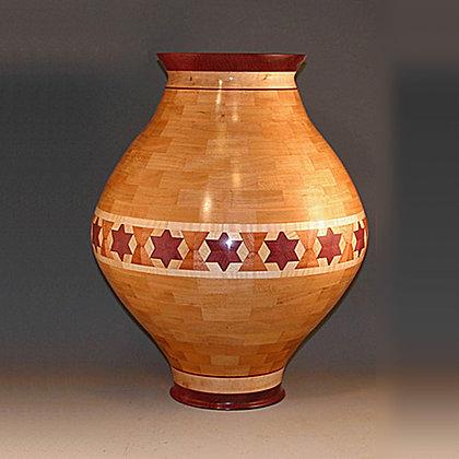 Segmented Interior Decorating Vase Item  386