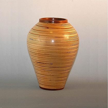 "Baltic Birch ""Bamboo"" Vase Item  288"