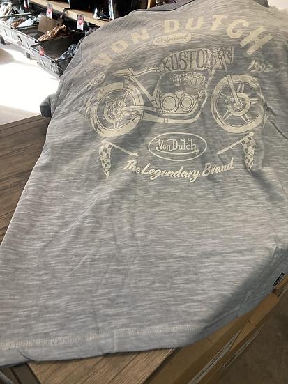 T-shirt Vondutch Lège Bleu