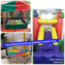 Locação de brinquedos infantis