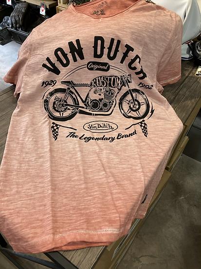 T-shirt Vondutch Lège Corail