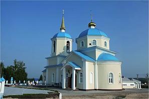 Храм апостолов Петра и Павла в селе Обух
