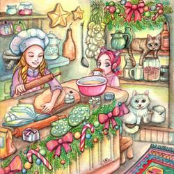 Mini Chef in the Kitchen