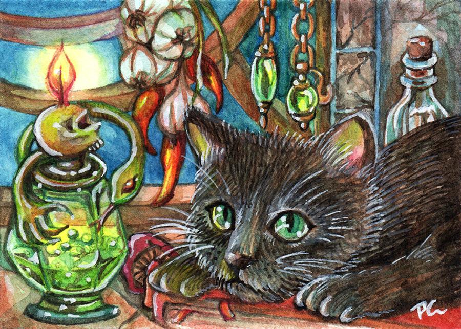 Alchemist's Cat