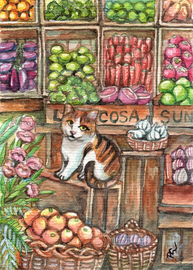 Meow At The Market