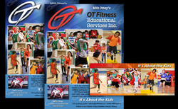 OT Fitness Posters, Web Banner