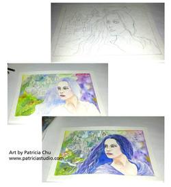 Arwen Painting