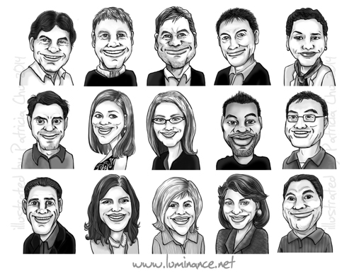 Luminance Caricature