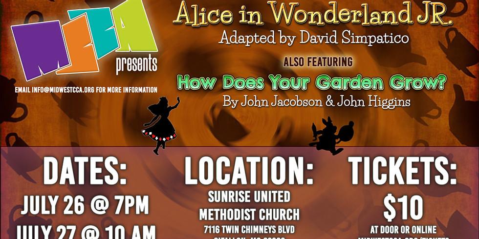Alice in Wonderland Jr. (Saturday)