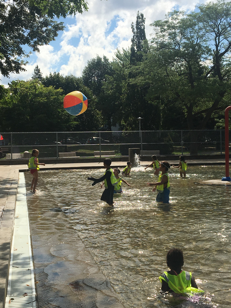 Fun at the Water Park