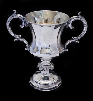 LOTE 248. Troféu em prata inglesa - Birmingham - 1866.