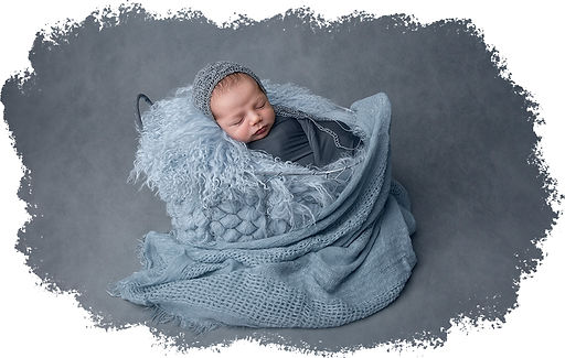 newborn session boy