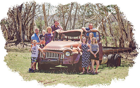 family photo session farm